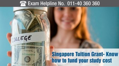 Study in Singapore: Know special grant to fund your study cost | Careers Tips | Scoop.it
