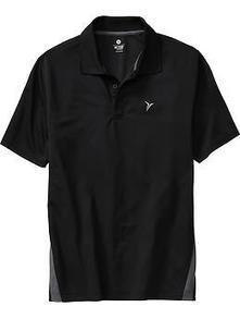 Men's Active by Old Navy Pique-Mesh Polos   Old Navy   fashion   Scoop.it