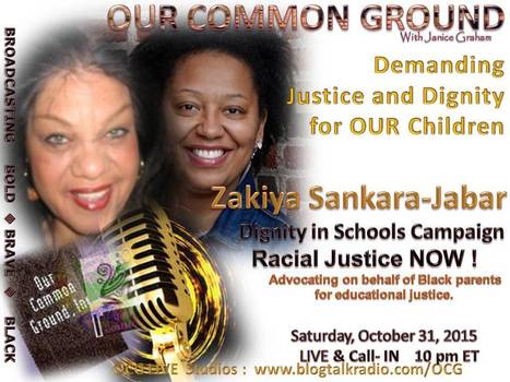 """Demanding Justice and Dignity for OUR Children"" with Zakiya Sankara-Jabar, Dignity In Schools Campaign  LIVE 