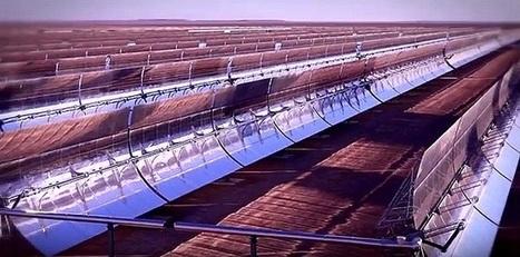 Noor 1, première centrale d'électricité solaire du Maroc - Comment le Sud lutte contre le réchauffement climatique | Maghreb-Machrek | Scoop.it