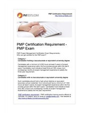 PMP Certification Requirement - PMP Exam   PMTests   Scoop.it