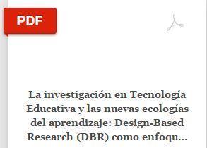 La investigación en Tecnología Educativa y las nuevas ecologías del aprendizaje: Design-Based Research (DBR) como enfoque metodológico | Learning about Technology and Education | Scoop.it