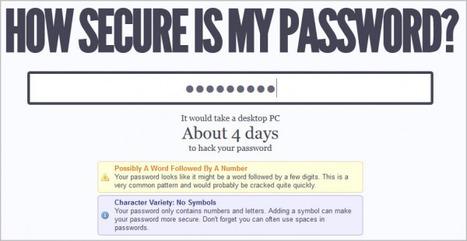 Combien de temps faut-il pour cracker un mot de passe ? | Panoptinet | Conseils et Astuces Numériques pour TPE et PME | Scoop.it