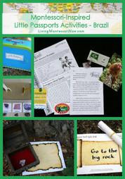 Montessori-Inspired Little Passports Activities – Brazil | Montessori Inspired | Scoop.it
