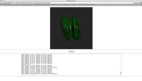OpenCL to WebCL with Emscripten (QJulia demo) | opencl, opengl, webcl, webgl | Scoop.it