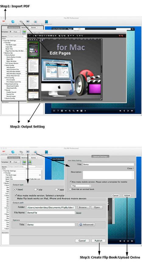 Flip PDF Pro for Mac: convert PDF to digital books with page turn effect.[FlipBuilder.com] | Flip Builder Convert pdf to flip book eBook for digital magazine publishing with flip pdf. | Scoop.it