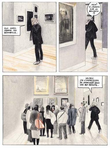 La Traversée du Louvre – Par David Prudhomme – Futuropolis / Musée du Louvre Editions - Actua BD: l'actualité de la bande dessinée   David Prudhomme   Scoop.it