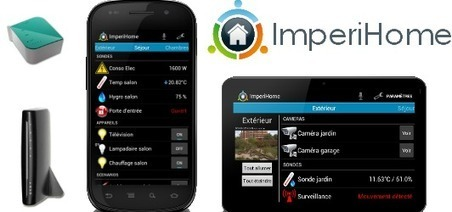 ImperiHome Smart home control application - Domotique Info | Domotique, robotique et objets connectés sur le Net | Scoop.it