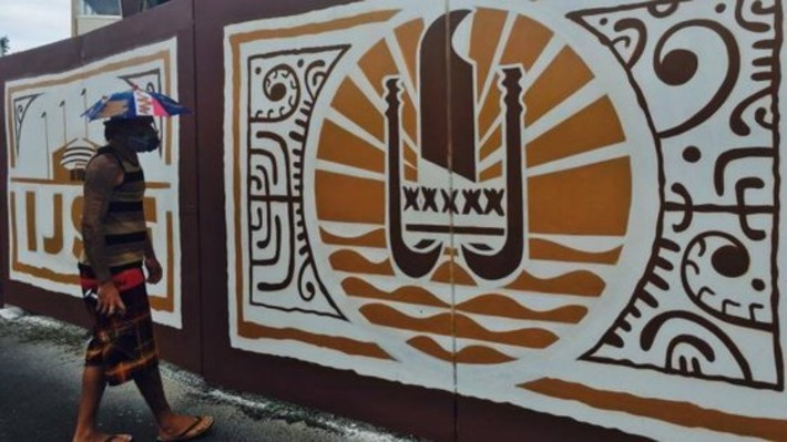 La dernière œuvre de l'artiste graffeur HTJ | Polynésie 1ère | Kiosque du monde : Océanie | Scoop.it