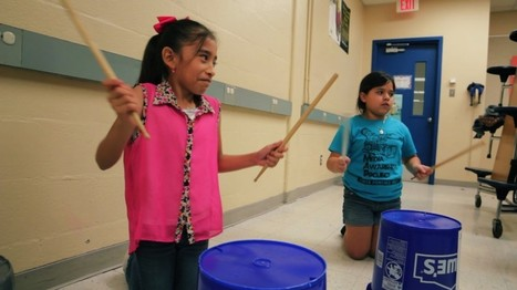 Underserved Austin students embrace their culture through the art of drumming - PBS NewsHour | Education Matters - (tech and non-tech) | Scoop.it