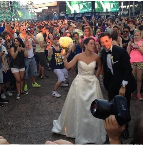 Real Weddings: Couples Who Got Married This Weekend - Huffington Post | real weddings | Scoop.it