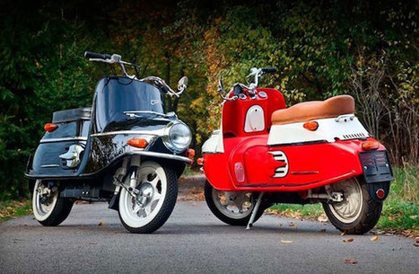 Vintage Cezeta scooter back in production with electric power | Vintage and Retro Style | Scoop.it