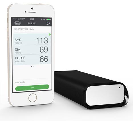 Qardio   QardioArm Wireless Blood Pressure Monitor   Wearable Tech & Innovative Sports Gear   Scoop.it