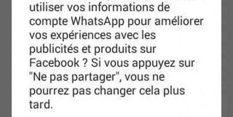 Whatsapp : Comment désactiver le partage de vos informations sur Facebook | Actualité Houssenia Writing | digitalcuration | Scoop.it