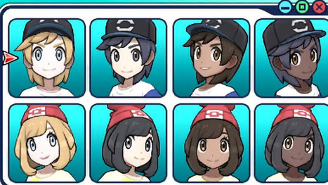 You can choose a black Pokemon trainer in Pokémon Sun and Moon | Thezonegamer | Scoop.it