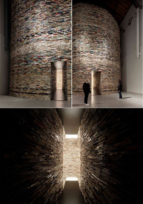 10 Gorgeous Buildings Made Out of Books « Flavorwire | Read Ye, Read Ye | Scoop.it