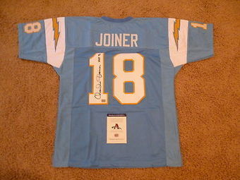 Antonio Gates San Diego Chargers NFL Autographed Authentic Blue Jersey   NFLG4LESS   Scoop.it