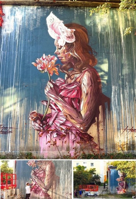 27 Amazing Photos of Street Art Around the World Wow!   castle pictures   Scoop.it