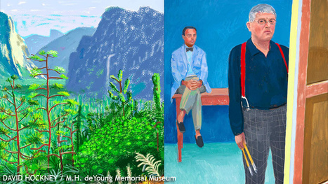 iPad Paintings By David Hockney Featured At SF's deYoung Museum - CBS Local | artistic inspiration | Scoop.it