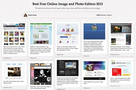Best Free Online Image and Photo Editors 2013 | hobbitlibrarianscoops | Scoop.it