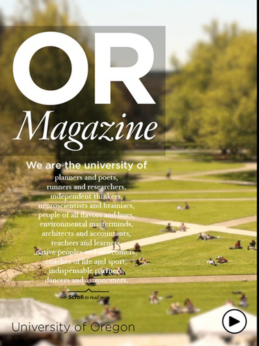 University of Oregon students embrace iPad-only publication, challenge ... - Poynter.org | MagCasting | Scoop.it