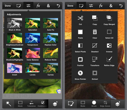 Photo App Review: Adobe Photoshop Touch for iPhone | Everything and nothing to do with The digital world | Scoop.it