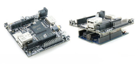Rubix A10 is an Arduino Shield Running Linux Powered by Allwinner A10 Processor | Embedded Systems News | Scoop.it