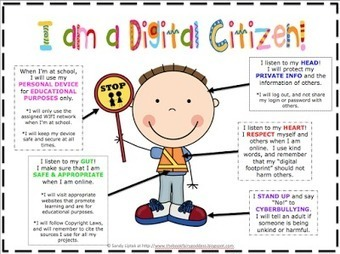 iPaddling through Fourth Grade-Encourage...Engage...Enlighten...Empower: Digital Citizenship Resources | iPads in Education | Scoop.it