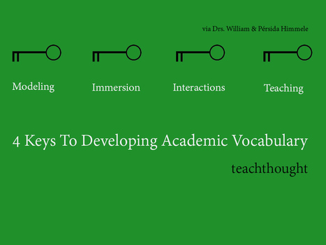 4 Keys To Developing Academic Vocabulary   CCSS News Curated by Core2Class   Scoop.it