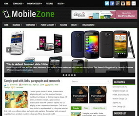 MobileZone Blogger Template | Blogger Templates | Scoop.it