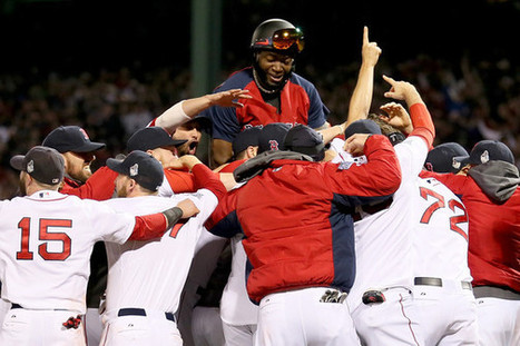 """Boston Red Sox """"Mt. Rushmore"""" 