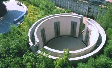 Cylindre de Bernhard Leitner - Jardin des bambous, parc de La Vilette à Paris | les bambous | Scoop.it