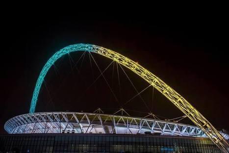 L'arche du Stade de Wembley connectée aux Fans qui pourront en changer la couleur | Le sport à l'ère du connecté | Scoop.it