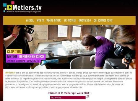 Les WebTV des métiers | CDI Web 2.0 - Collège Capeyron | PDMF | Scoop.it