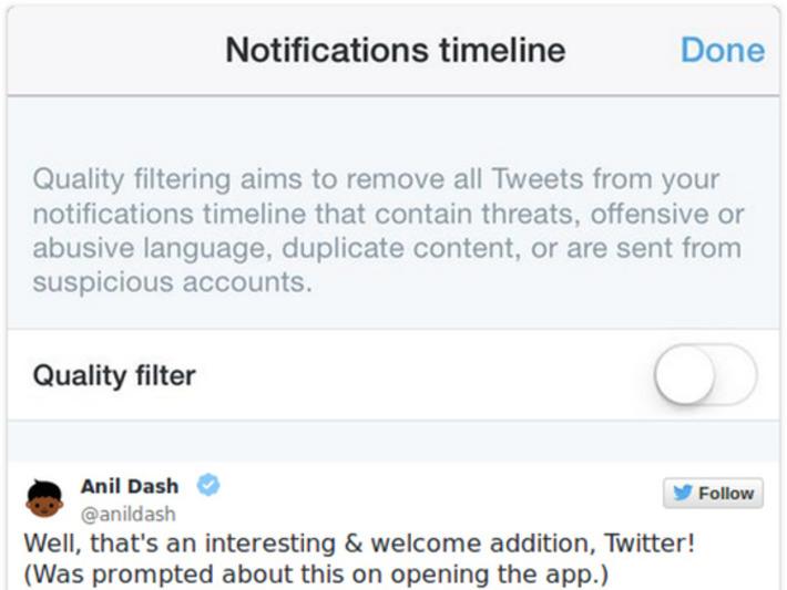 """Twitter veut filtrer les menaces de votre timeline   Alertes et Conseils Sécurité """"AutreMent""""   Scoop.it"""