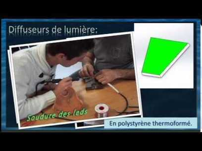 Projet STI2D luminaire mobile à éclairage dynamique - YouTube | My STI2D projets | Scoop.it