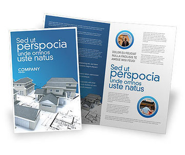 House Building Brochure Template | Brochure Templates | Scoop.it