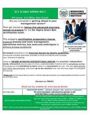 Tweet from @WDI_HVCC | Lean Six Sigma Green Belt | Scoop.it