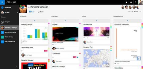 Microsoft Planner, Herramienta para el trabajo colaborativo   Elearning   Scoop.it