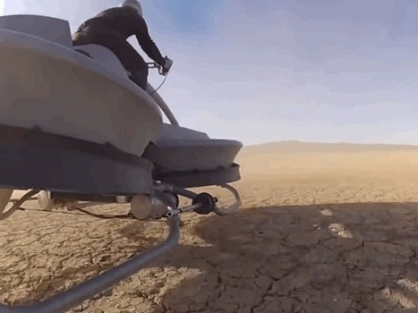 A Hover Bike Straight Out Of 'Star Wars' Will Hit The Market In 2017 | Leisure | Scoop.it