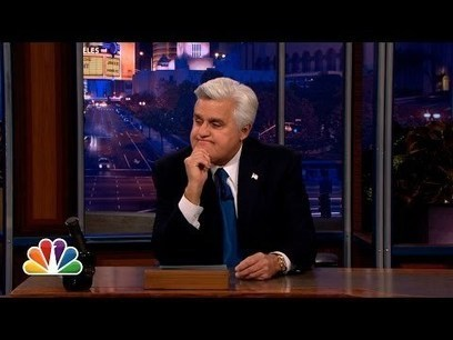 Jay Leno's Heartfelt Goodbye - The Tonight Show with Jay Leno | staged | Scoop.it