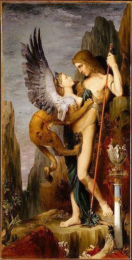 Edipo y la esfinge | Mitología clásica | Scoop.it