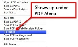 """Create a """"Send to iPad"""" link as a print option - iPads in Education   Curtin iPad User Group   Scoop.it"""
