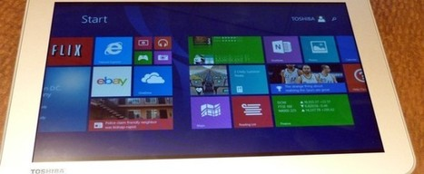 Toshiba Declares its First Tablet to Run on Windows 8.1   Windows Mobile App Mart - Windows Mobile Phone News   Scoop.it