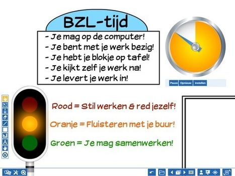 "StartblokGroep6 on Twitter: ""Samen met de leerlingen de afspraken van het zelfstandig werken mooi samengevat met de presenter van @Prowise_NL http://t.co/TFfuCOrexH"" 