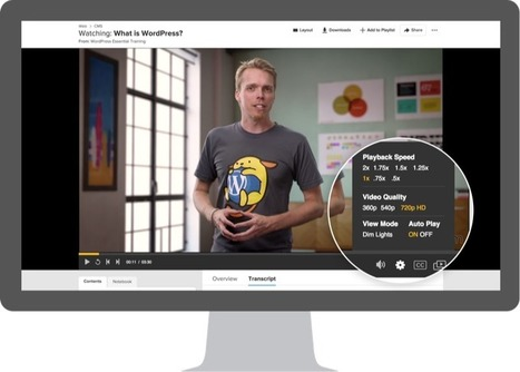 New Lynda.com Course Page Makes it Easier for You to Learn New Skills | All About LinkedIn | Scoop.it