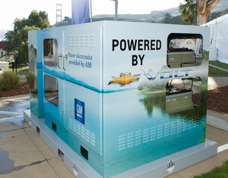 GM turns your old Chevy Volt battery into a whole-house UPS | ExtremeTech | ub3r newz | Scoop.it