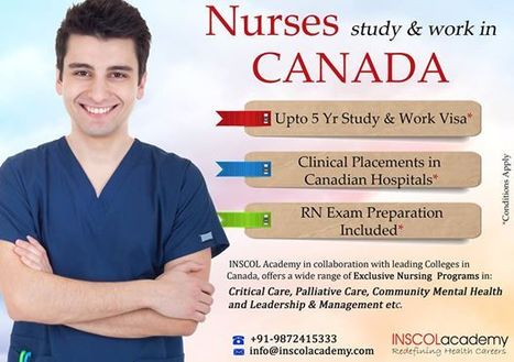 Take a step forward in your Nursing Career with INSCOL Academy! | Global Nursing Program Overseas | Scoop.it