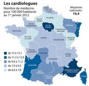 Accès aux soins, des inégalités territoriales flagrantes - La Croix | Pourquoi comment la communication hospitalière ? | Scoop.it