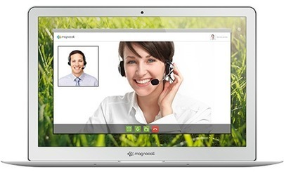 One-to-One No-Downloads Free Videoconferencing with Magnocall | Online Collaboration Tools | Scoop.it